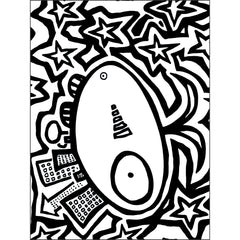 begoodmonster free coloring page