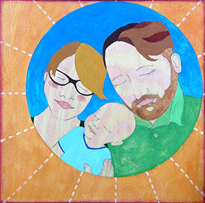 family portrait by Lea K. Tawd