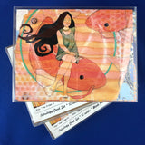 Astrology Art Greeting Cards Set of 12