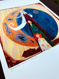 Generations - Mother, Maiden, Crone  * Limited Edition Giclee Print * 13 x 19""