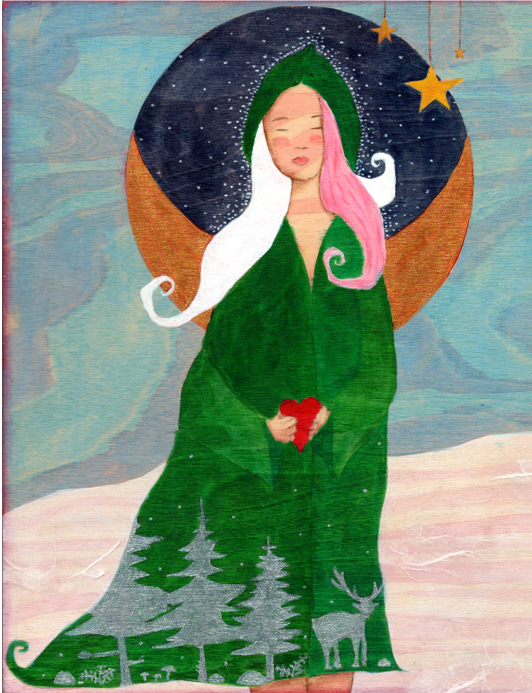 Holiday Cards - Yule Solstice Chanukah Christmas