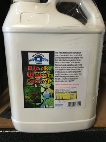 Black Water Extract Water Conditioner 2.5ltr