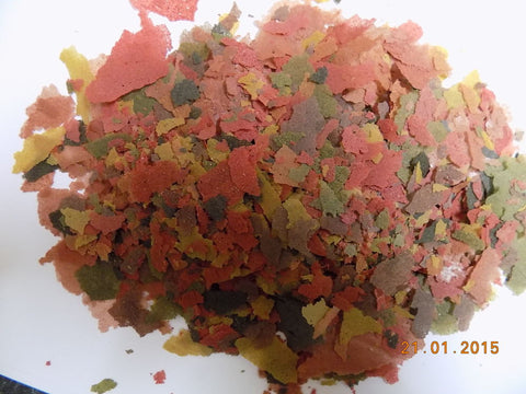 Colour Enhancing Aquarium Fish Flake Food GRAIN FREE  5Kg