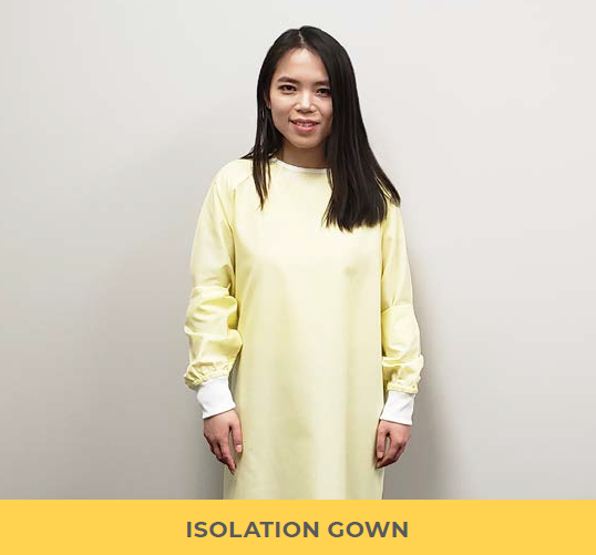Isolation Gown #1620, PRE-ORDER Available first week of August