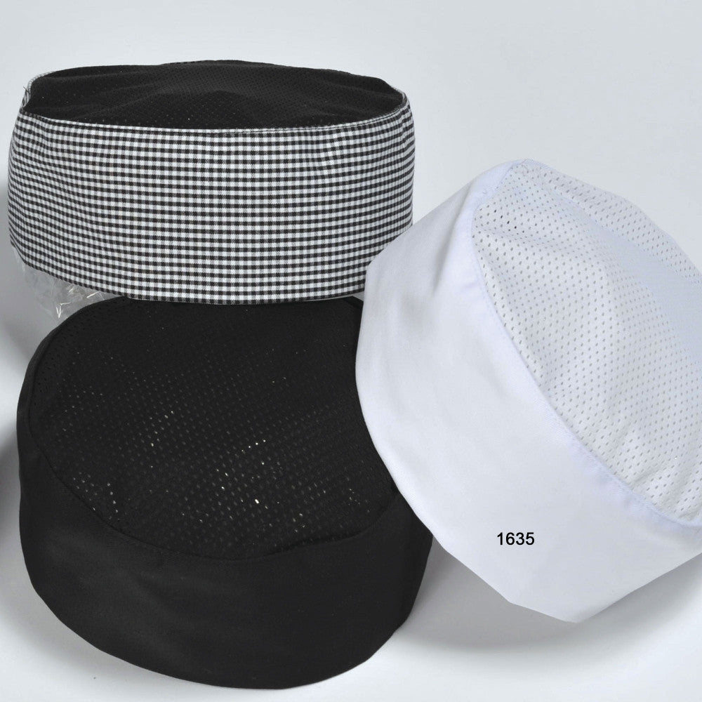 Pill Box Cap with Mesh Top #1635