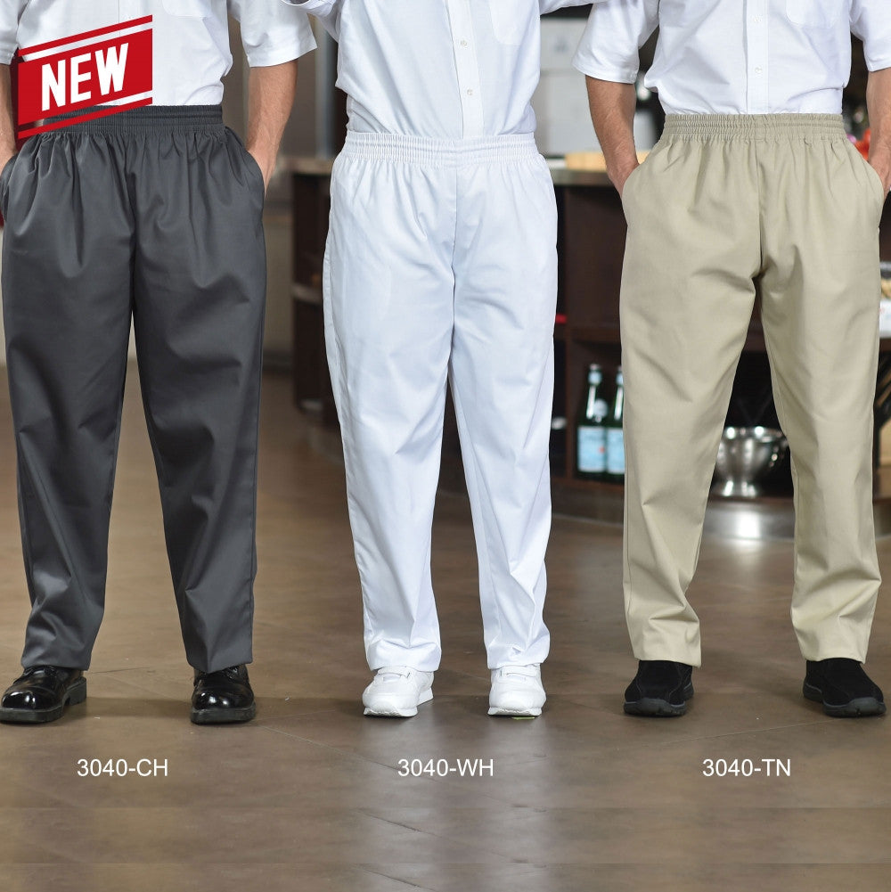Baggy Chef Pants - Poly Cotton #3040