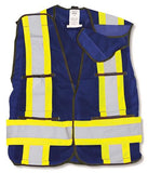 100% Polyester Soft Mesh Safety Vest #BK101