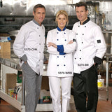 Chef Coat with Contrast Trim #5370