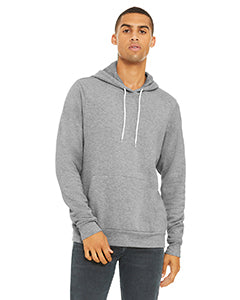 Bella + Canvas Unisex Sponge Fleece Pullover Hoodie #3719