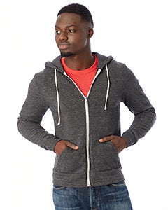 Alternative Unisex Rocky Eco-Fleece Zip Hoodie #AA9590