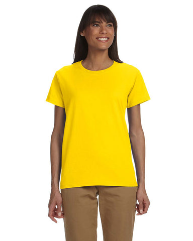 Women's T-Shirt - 100% Cotton - Size XL-3XL #G200L
