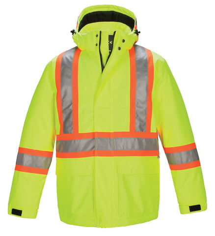 Men's Hi Vis Insulated Parka #L01250