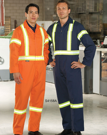 2″ Reflective Tape Coveralls #S4158A