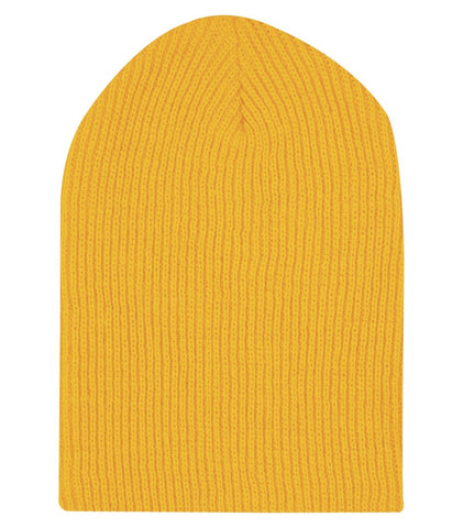 Longer Length Knit Beanie #C112