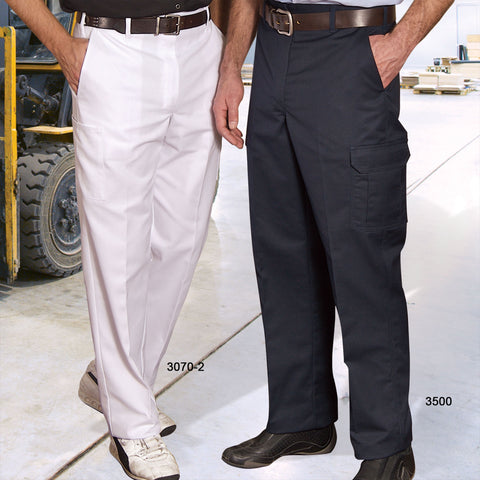Cargo Work Pants - Two Tool Pockets with Hook and Eye Closure #3070-2