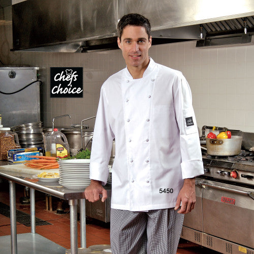 Chef Coat with Mesh #5450