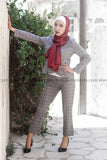 SALE Fashion Women Suit - 2 piece - Pant & Blouse - E-Modesta