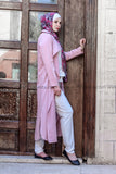 Long Summer Pink Cardigan