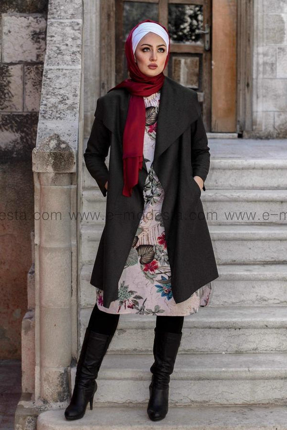 Wool blend long coat - Seven Colors