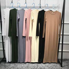 Straight Maxi Dress - 7 colors - E-Modesta