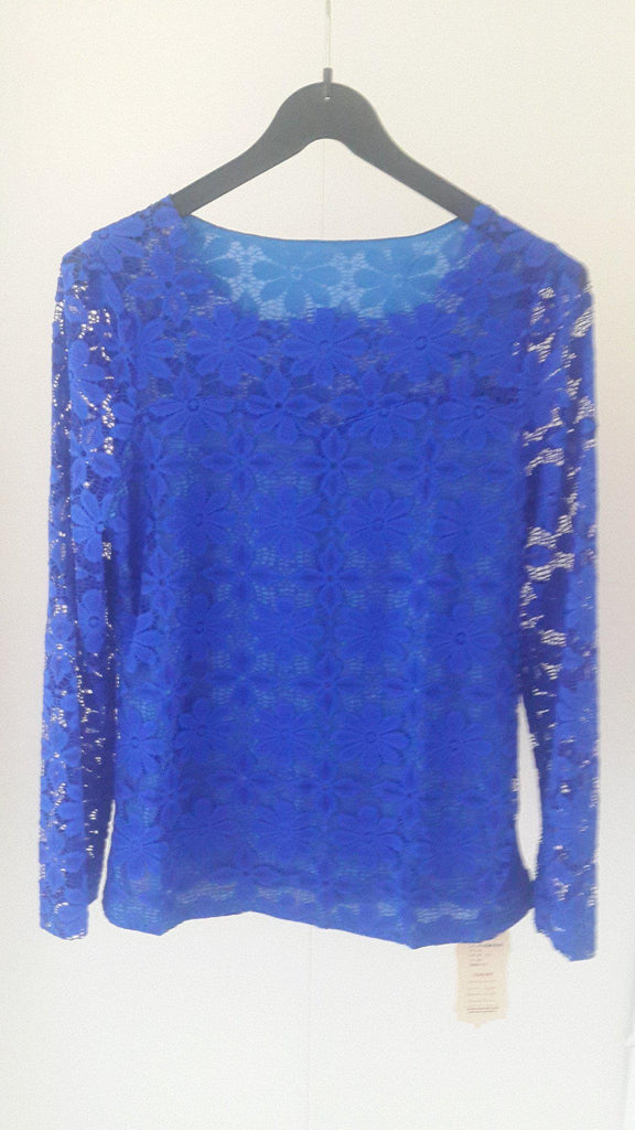 Lace long sleeved blouse - E-Modesta