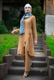 Elegant Puane Suit | Camel Color