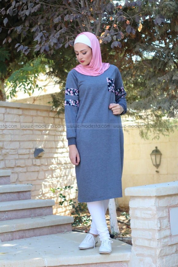 Casual Cotton Long Tunic