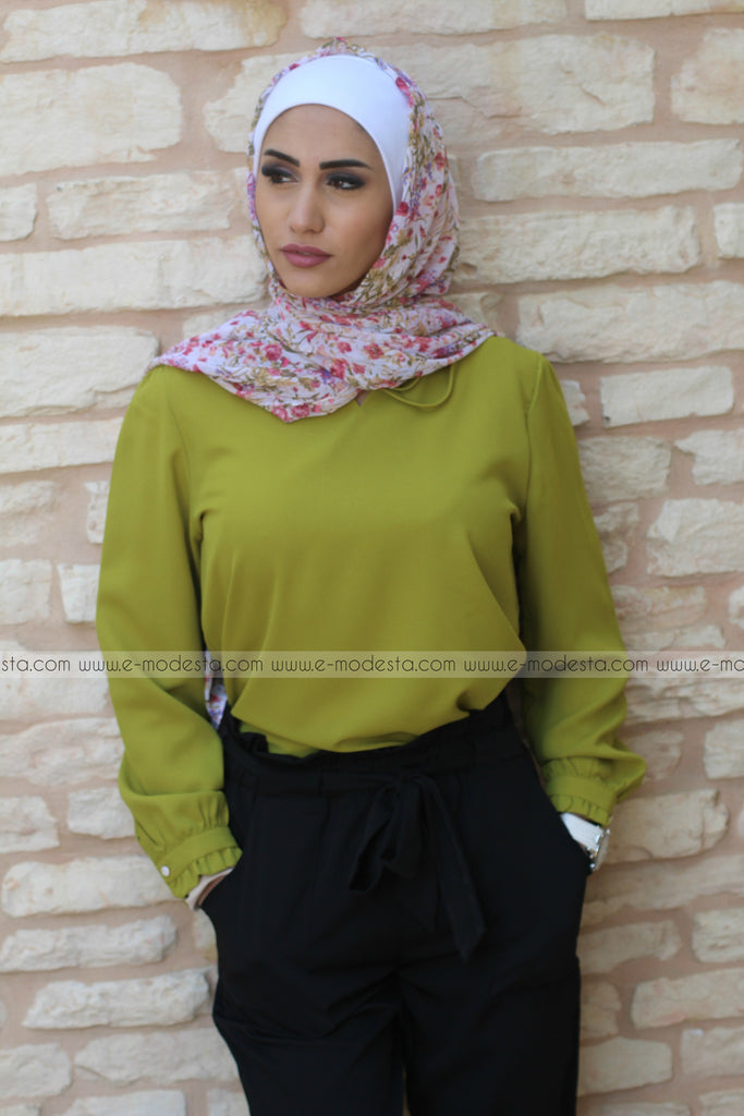 Elegant Simple Formal Blouse - E-Modesta