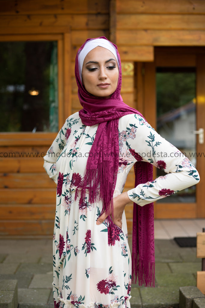 Lace Elegant Scarf | Ten Colors - E-Modesta
