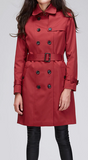 Long winter trench coat - 3 colors