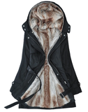 Winter Jacket Fur All Inside | Double Jacket | Detachable | E-Modesta