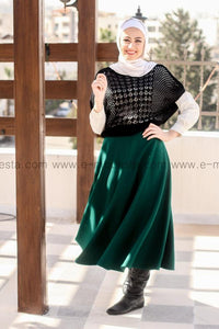 Winter Thick Mid-calf Skirt