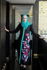Abaya-like Dress - No Buttons