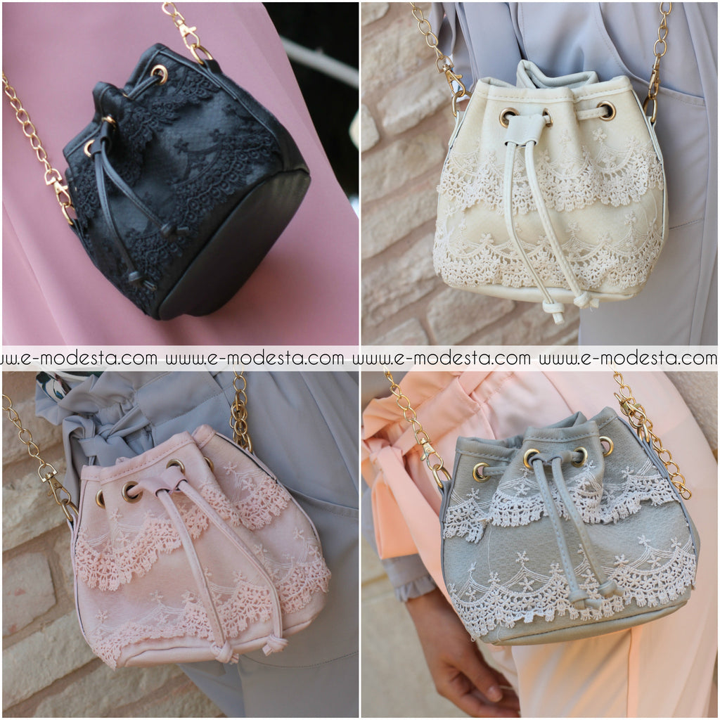Cute little lace bag - E-Modesta