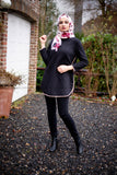 SALE Winter Top Fur Inside Black Color - E-Modesta