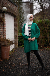 Long Cardigan | Women Cardigan | Winter Cardigan | E-Modesta hijab fashion cardigan hijab