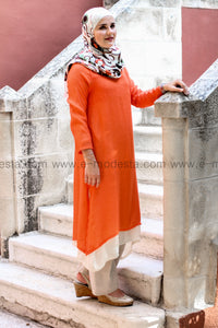2-layers long tunic