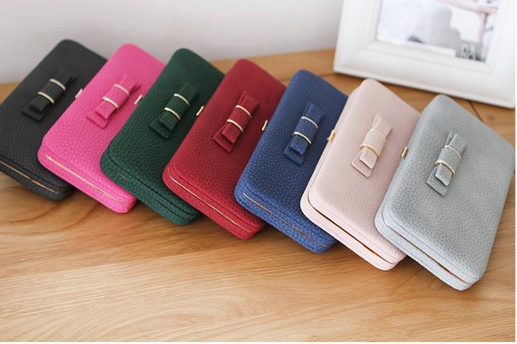 Multi-purpose Mobile-fit women elegant wallet