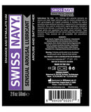 Swiss Navy Sensual Arousal Lubricant - 2 Oz