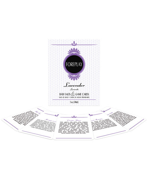 Foreplay Bath Set Lavender