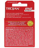 Trojan Enz Non-lubricated - Box Of 3