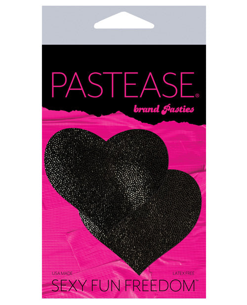 Pastease Liquid Heart - Black O-s