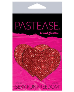 Pastease Glitter Heart -  Red O-s
