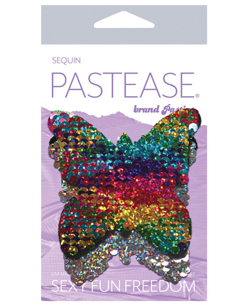 Pastease Color Changing Flip Sequins Butterfly - Rainbow O-s