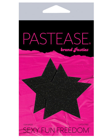 Pastease Glitter Star - Black O-s