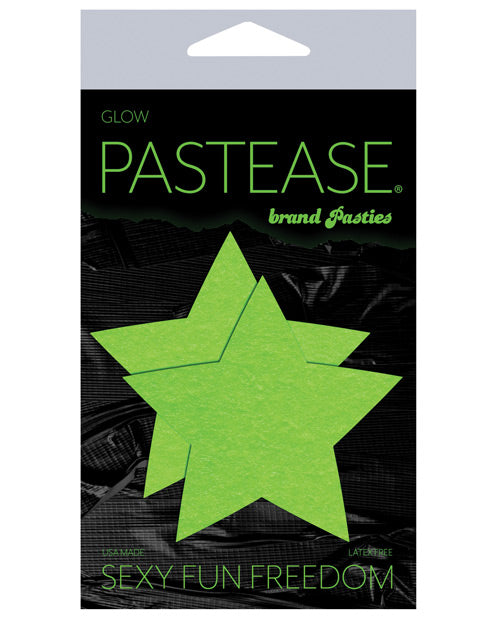 Pastease Star - Glow In The Dark Green O-s