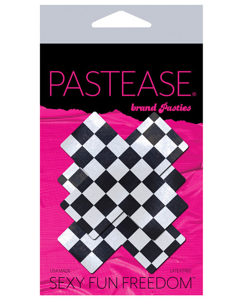 Pastease Checker Cross - Black-white O-s