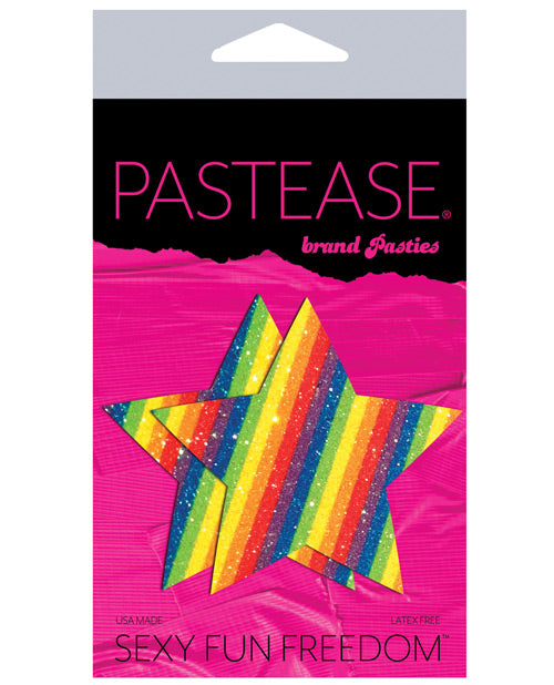 Pastease Glitter Star - Rainbow O-s