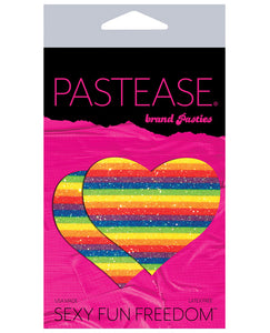 Pastease Glitter Heart -rainbow O-s