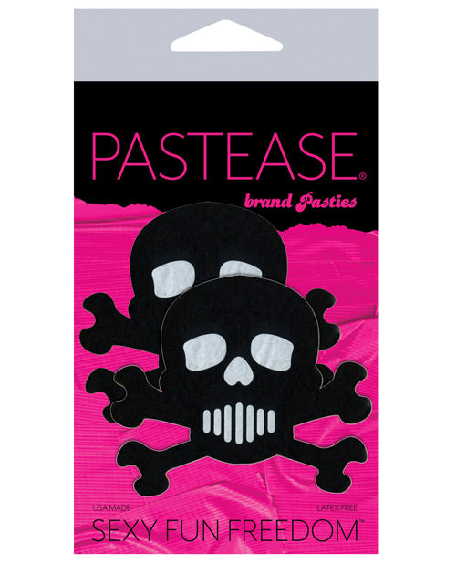 Pastease Skull - Black-white O-s